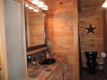 Full Bathroom in the Sleeping loft